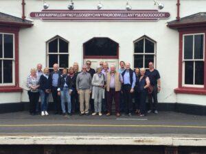 At the longest named Welsh village