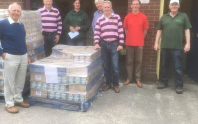 Rotary Supports Foodbank in the local area