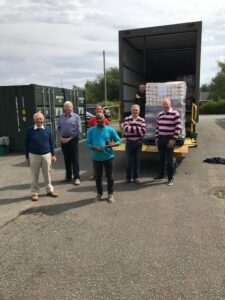 Rotary support local foodbank